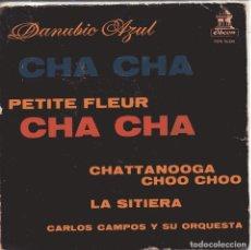 Dischi in vinile: CARLOS CAMPOS / PETITE FLEUR + 3 (EP 1960). Lote 149977358