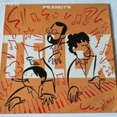 Discos de vinilo: TELEX - PEANUTS - 1987. Lote 149984310