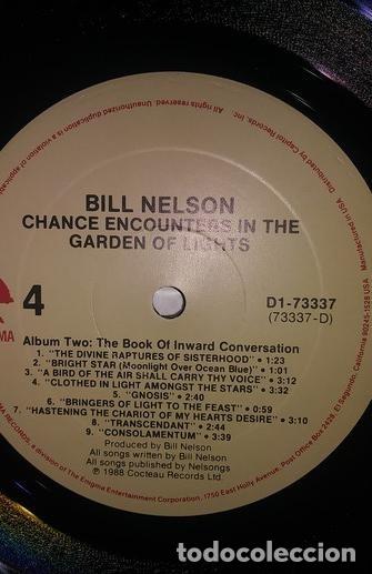 Discos de vinilo: Bill Nelson ( Be-bop de luxe ) 2 LP Chance Encounter... * DELUXE GATEFOLD PRECINTADO!!!! - Foto 3 - 26356029
