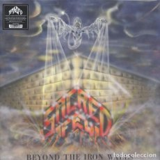 Discos de vinilo: SACRED FEW - BEYOND THE IRON WALLS - 2LP [SHADOW KINGDOM, 2016 · BLUE/ORANGE SPLATTER VERSION] HEAVY. Lote 223232452