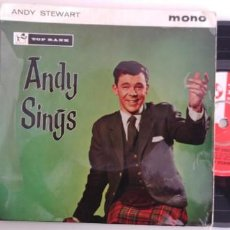 Discos de vinilo: ANDY STEWART SINGS-EP COME IN COME IN +4. Lote 149995818