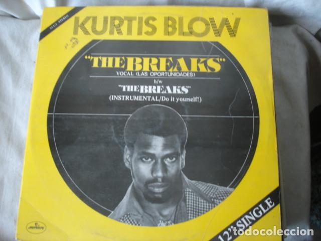 KURTIS BLOW THE BREAKS = LAS OPORTUNIDADES (Música - Discos de Vinilo - Maxi Singles - Rap / Hip Hop)