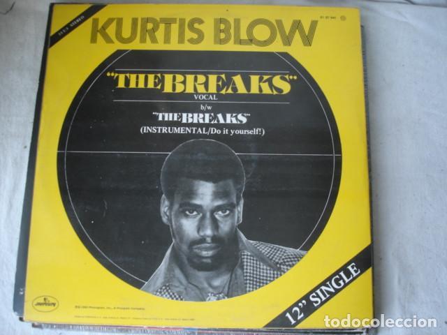 Discos de vinilo: Kurtis Blow The Breaks = Las Oportunidades - Foto 2 - 149996414