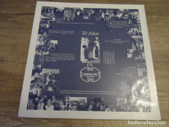 Discos de vinilo: IMPACTO 10 AÑOS - EN IMPACTO (PROMOCIONAL) - Foto 2 - 150005950