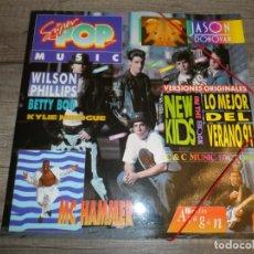 Discos de vinilo: SUPER POP MUSIC - LO MEJOR DEL VERANO 91. Lote 150006574