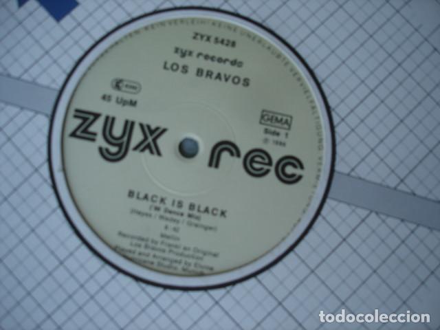 LOS BRAVOS BLACK IS BLACK ('86 DANCE MIX) (Música - Discos de Vinilo - Maxi Singles - Grupos Españoles 50 y 60)