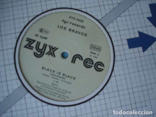 Discos de vinilo: Los Bravos Black Is Black ('86 Dance Mix) - Foto 2 - 150015130