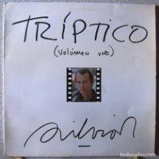 Discos de vinilo: SILVIO RODRIGUEZ.TRIPTICO VOL 1...EX. Lote 150022514