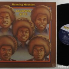 Discos de vinilo: JACKSON FIVE - MICHAEL JACKSON, DANCING MACHINE 74 !! RARA 1ª ORG EDT USA MOTOWN !! EXC. Lote 150028366