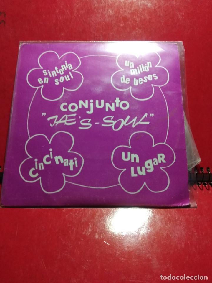 EP CONJUNTO JAE'S SOUL : SINTONIA EN SOUL ( EP SANDIEGO, AÑO 1979) COMPLETAMENTE NUEVO (Música - Discos de Vinilo - EPs - Funk, Soul y Black Music)