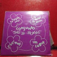 Discos de vinilo: EP CONJUNTO JAE'S SOUL : SINTONIA EN SOUL ( EP SANDIEGO, AÑO 1979) COMPLETAMENTE NUEVO. Lote 150029050
