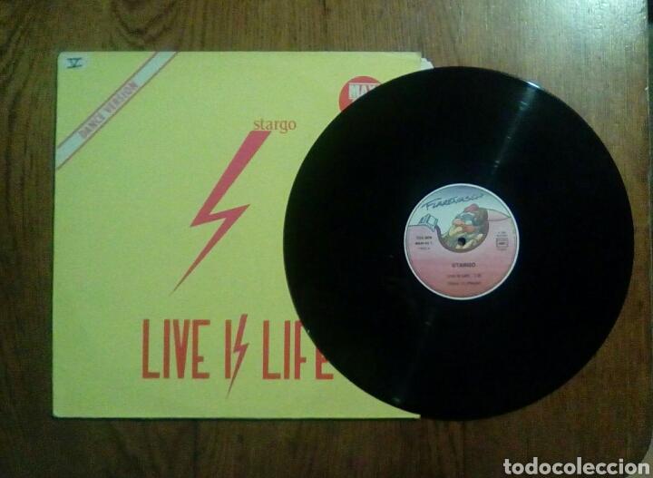 Discos de vinilo: Stargo - Live is life, Wea, 1985. France. - Foto 3 - 150040468