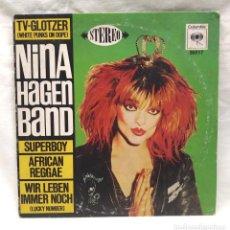 Discos de vinilo: NINA HAGEN BAND AÑO 1980 COLUMBIA. Lote 150054166