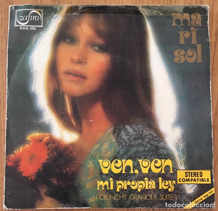 MARISOL VEN VEN SINGLE ZAFIRO AÑO 1973 (Música - Discos - Singles Vinilo - Solistas Españoles de los 70 a la actualidad)