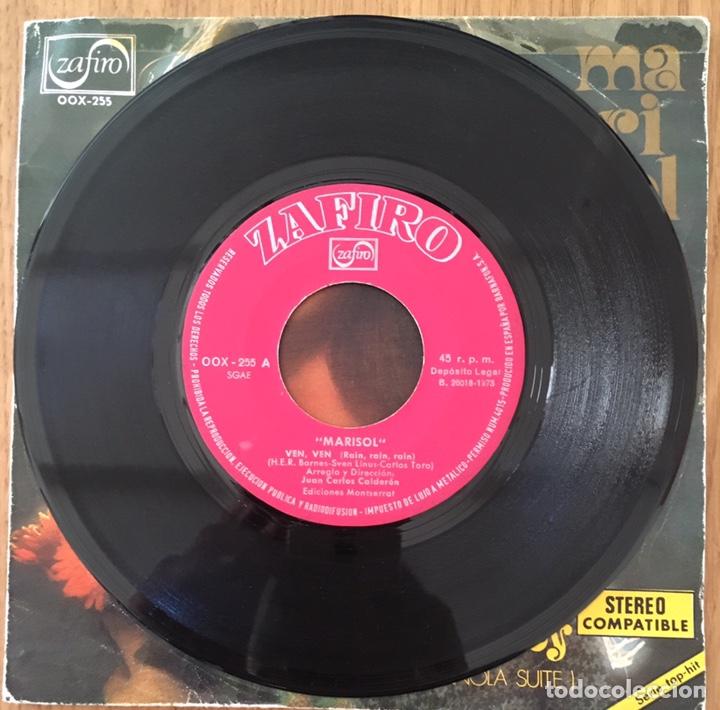 Discos de vinilo: MARISOL VEN VEN SINGLE ZAFIRO AÑO 1973 - Foto 2 - 150060210