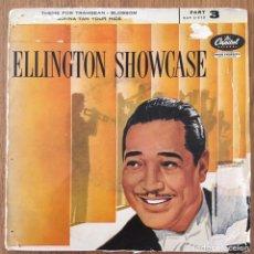 Discos de vinilo: DUKE ELLINGTON SHOWCASE EP EDIC ESPAÑA CAPITOL. Lote 150062010