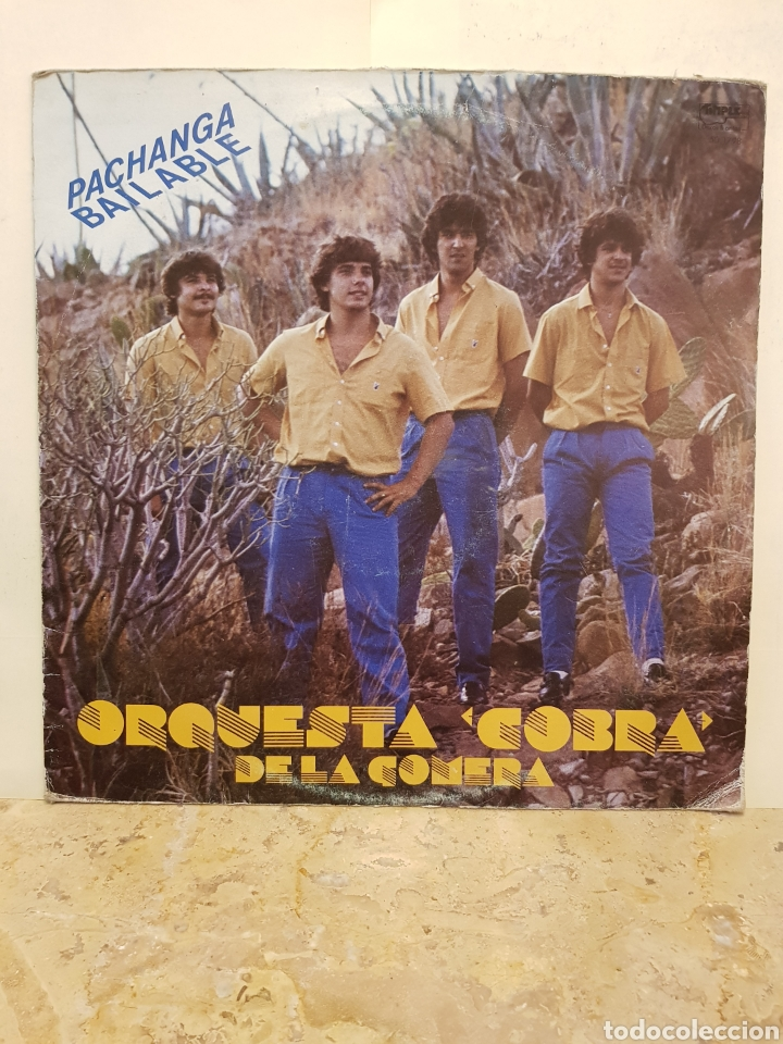 ORQUESTA COBRA DE LA GOMERA PACHANGA BAILABLE LP VINILO (Música - Discos - LP Vinilo - Orquestas)
