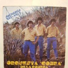 Discos de vinilo: ORQUESTA COBRA DE LA GOMERA PACHANGA BAILABLE LP VINILO. Lote 150070085