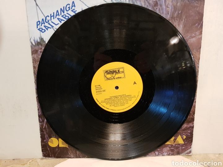 Discos de vinilo: ORQUESTA COBRA DE LA GOMERA PACHANGA BAILABLE LP VINILO - Foto 3 - 150070085