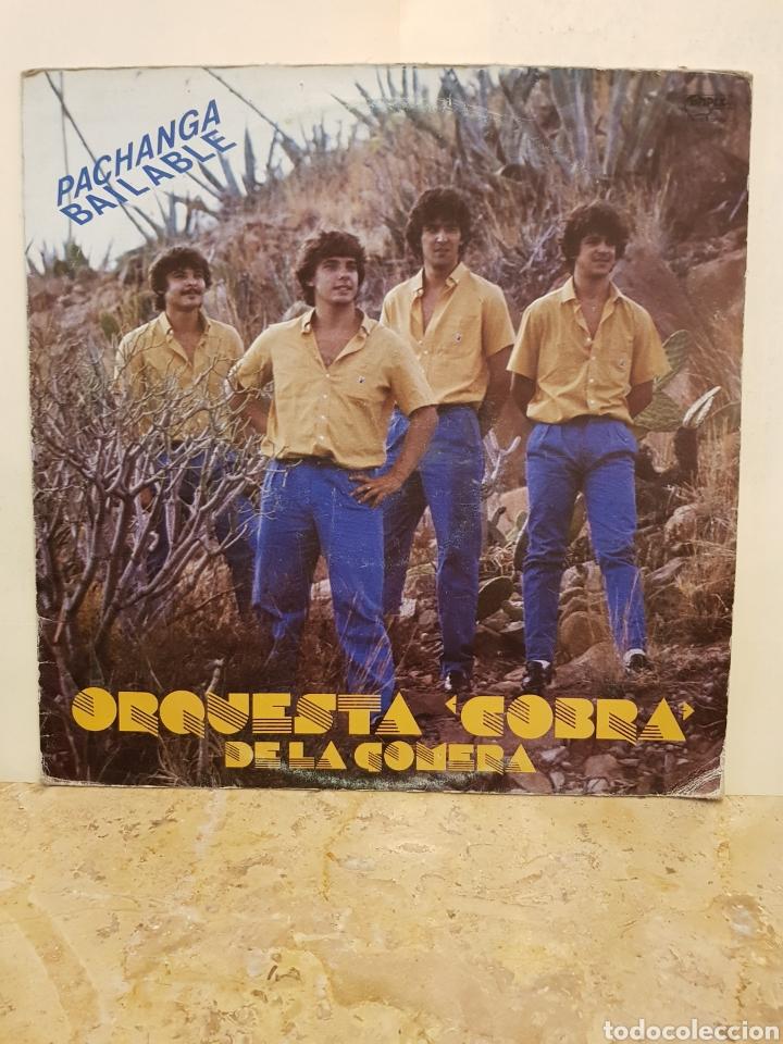 Discos de vinilo: ORQUESTA COBRA DE LA GOMERA PACHANGA BAILABLE LP VINILO - Foto 7 - 150070085
