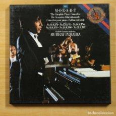 Discos de vinilo: MOZART / MURRAY PERAHIA - COMPLETE PIANO CONCERTOS - CONTIENE LIBRETO - BOX 3 LP. Lote 150088809