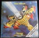 Discos de vinilo: BRIAN BENNETT - VOYAGE ( A JOURNEY INTO DISCOID FUNK) / SOLSTICE SG ED. ESPAÑOLA 1978. Lote 150094374