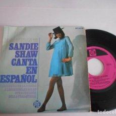 Discos de vinilo: SANDIE SHAW CANTA EN ESPAÑOL-EP MARIONETAS EN LA CUERDA +3. Lote 150124370