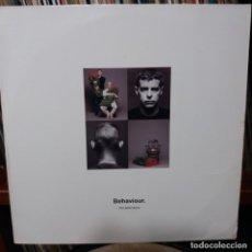 Discos de vinilo: PET SHOP BOYS - BEHAVIOUR. Lote 150125638