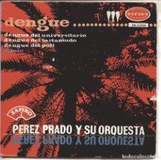 Dischi in vinile: PEREZ PRADO (DENGUE) / DENGUE DEL UNIVERSITARIO + 3 (EP 1965). Lote 150128182