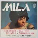 Discos de vinilo: EP / MILA ACOMPAÑADA POR LOS SONOR / PAPEL BORRADOR +3 / PHILIPS 430 983 PE / 1964. Lote 150129490