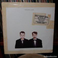 Discos de vinilo: PET SHOP BOYS - ACTUALLY. Lote 150130206