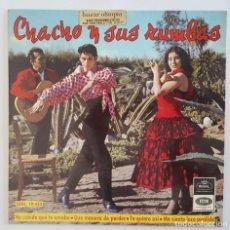 Discos de vinilo: EP / CHACHO Y SUS RUMBAS / HE SABIDO QUE TE AMABA +3 / REGAL SEDL 19.425 / 1965. Lote 150131642