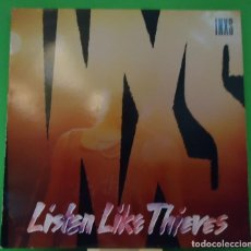Discos de vinilo: LP INXS - LISTEN LIKE THIEVES. Lote 150133022