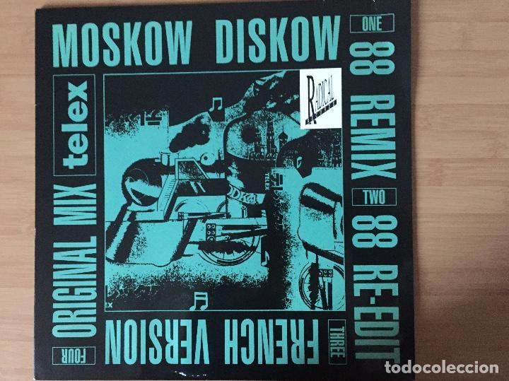 TELEX. MOSCOW DISKOW 88 REMIX (VINILO MAXI 45 1988) (Música - Discos de Vinilo - Maxi Singles - Electrónica, Avantgarde y Experimental)