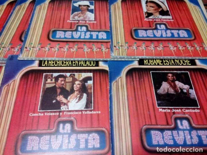 11 LP LA REVISTA CONCHA VELASCO, SAN BASILIO, CANTUDO, TERESA RABAL, ESPERANZA ROY... (Música - Discos - Singles Vinilo - Otros estilos)