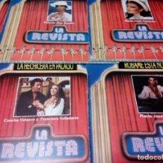 Discos de vinilo: 11 LP LA REVISTA CONCHA VELASCO, SAN BASILIO, CANTUDO, TERESA RABAL, ESPERANZA ROY.... Lote 150137094