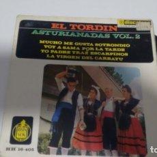 Discos de vinilo: E.P. ( VINILO) DE EL TORDIN AÑOS 60. Lote 150157862