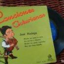 Discos de vinilo: E P ( VINILO) DE JOSE NORIEGA -CANCIONES ASTURIANAS-. Lote 150158218