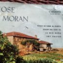 Discos de vinilo: E P ( VINILO) DE JOSE MORAN AÑOS 60. Lote 150158662