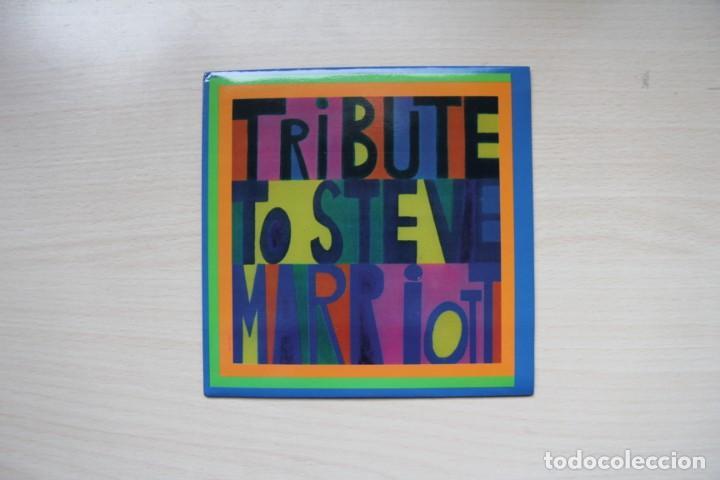 VARIOUS – TRIBUTE TO STEVE MARRIOTT - LOS COVERS / THE LAZY SUNDAYS / THE RUNAROUNDS / HE.LI.O (Música - Discos - Singles Vinilo - Grupos Españoles de los 90 a la actualidad)