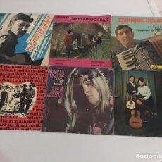 Discos de vinilo: LOTE 6 EPS VINILOS VASCOS AÑOS 60. Lote 150192597