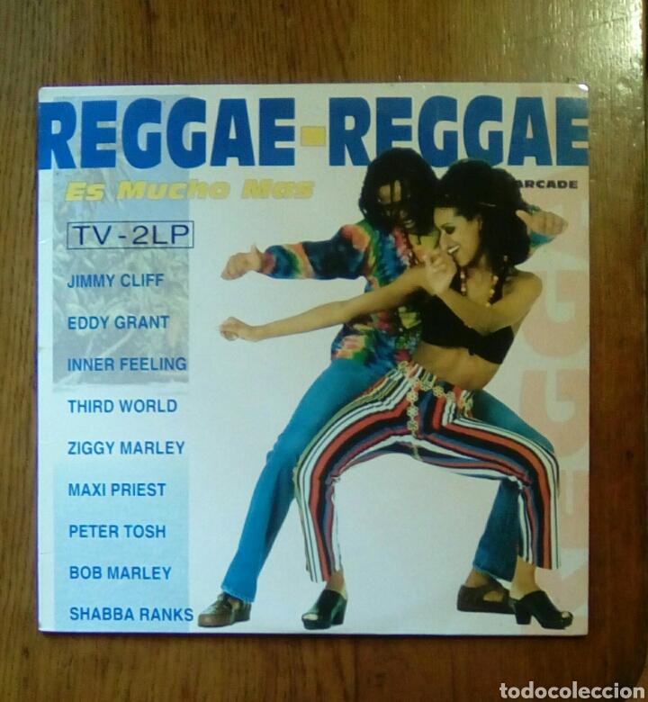 REGGAE - REGGAE, ES MUCHO MAS, ARCADE, 1993. SPAIN. (Música - Discos - LP Vinilo - Reggae - Ska)