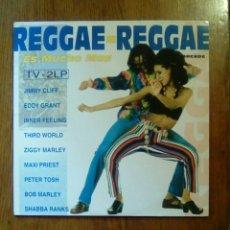 Discos de vinilo: REGGAE - REGGAE, ES MUCHO MAS, ARCADE, 1993. SPAIN.. Lote 150211301