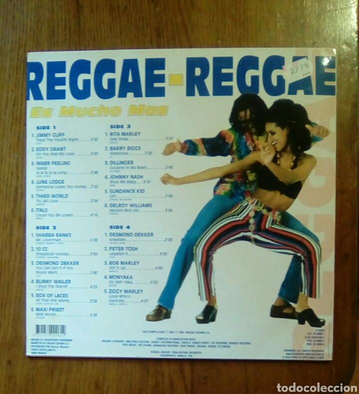 Discos de vinilo: Reggae - Reggae, Es mucho mas, Arcade, 1993. Spain. - Foto 2 - 150211301