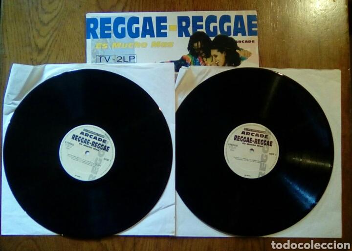 Discos de vinilo: Reggae - Reggae, Es mucho mas, Arcade, 1993. Spain. - Foto 3 - 150211301