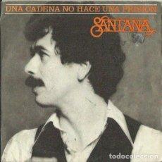 Discos de vinilo: SANTANA. SINGLE. SELLO CBS. EDITADO EN ESPAÑA. AÑO 1978. Lote 150223758
