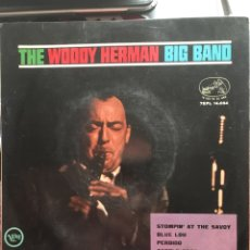 Discos de vinilo: THE WOODY HERMAN BIG BAND-STOMPIN' AT THE SAVOY-1964-VERVE RECORDS-RARO. Lote 150233410