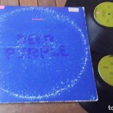 Discos de vinilo: DEEP PURPLE 2 LP. PURPLE PASSAGES MADE IN USA 1972 MATRIX 2LS- 2644. Lote 150235194