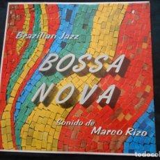 Discos de vinilo: LP BRAZILIAN JAZZ - BOSSA NOVA - SONIDO DE MARCO RIZO. Lote 150244474