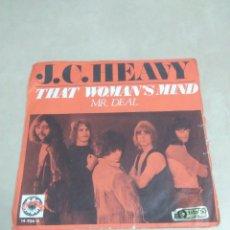 Discos de vinilo: SINGLE J. C. HEAVY. Lote 156599630